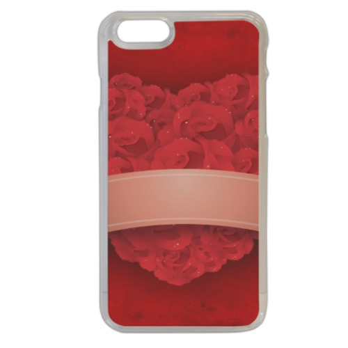 Cuore di fiori Cover iPhone 6