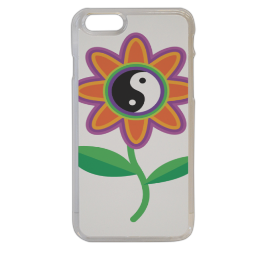 Fiore colore Yin Yang Cover iPhone 6