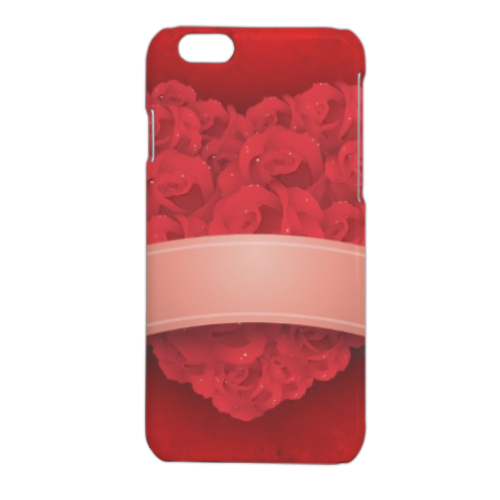 Cuore di fiori Cover iPhone 6 stampa 3D