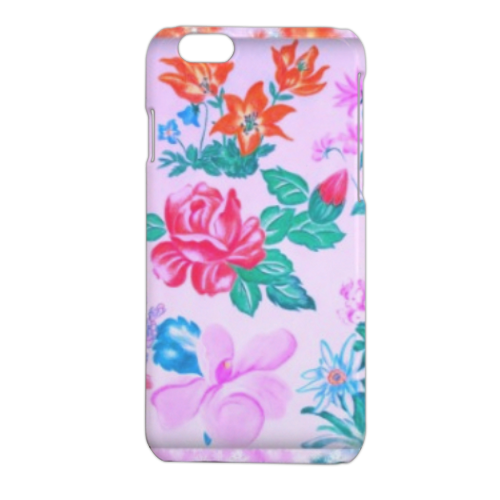 Flowers Cover iPhone 6 stampa 3D