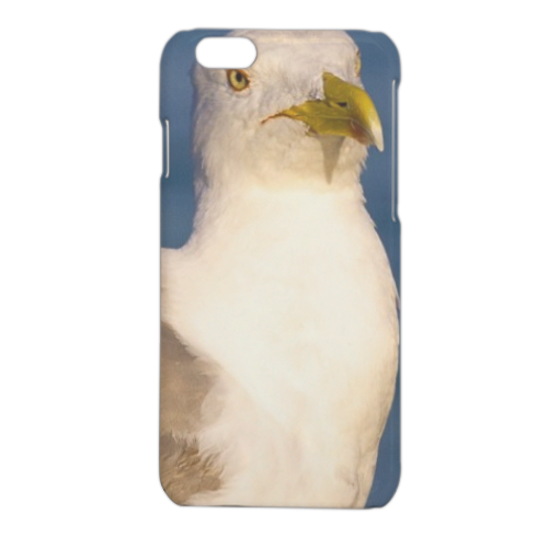Gabbiano Cover iPhone 6 stampa 3D