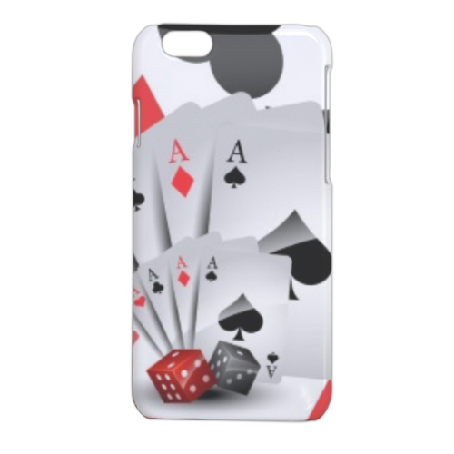 Poker Cover iPhone 6 stampa 3D