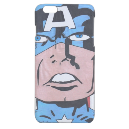 CAPITAN AMERICA 2014 Cover iPhone 6 plus stampa 3D