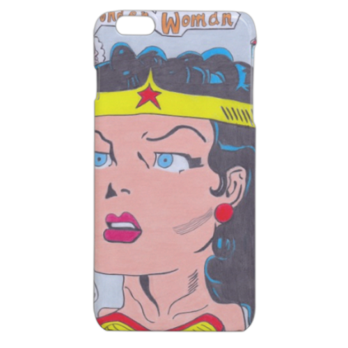WONDER WOMAN 2015 Cover iPhone 6 plus stampa 3D