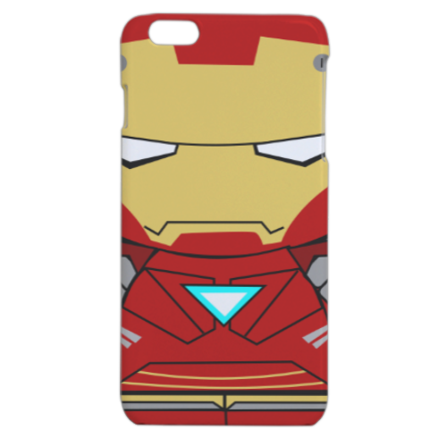 Team Ironman Cover iPhone 6 plus stampa 3D