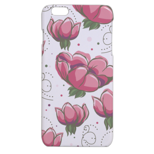 Riempimento a fiori Cover iPhone 6 plus stampa 3D