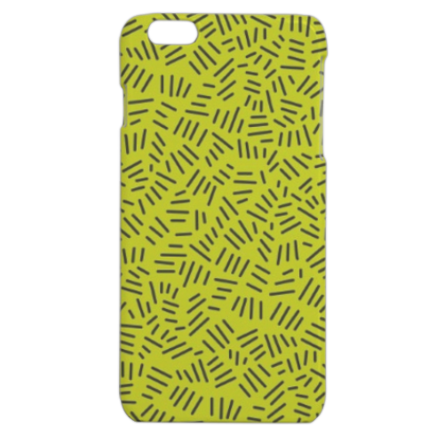Texture with stripe Cover iPhone 6 plus stampa 3D