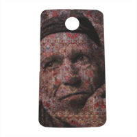 Keith Richards Cover nexus 6 stampa 3D