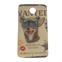 Wanted Rambo Dog Cover nexus 6 stampa 3D