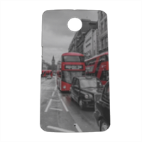 London red and white Cover nexus 6 stampa 3D