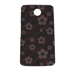 flowers Cover nexus 6 stampa 3D