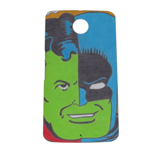 THE COMPOSITE SUPERMAN Cover nexus 6 stampa 3D