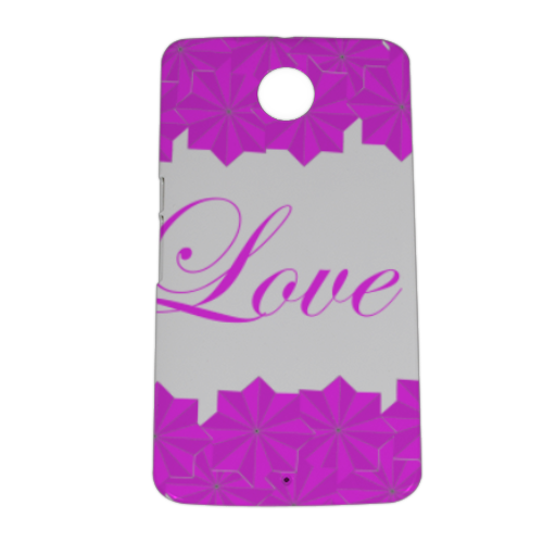 Roseventi Love Cover nexus 6 stampa 3D