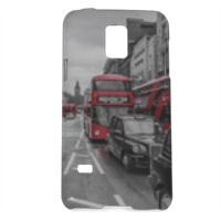 London red and white Cover Samsung Galaxy S5 mini 3D