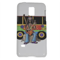 PEACE AND LOVE Cover Samsung Galaxy S5 mini 3D