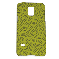 Texture with stripe Cover Samsung Galaxy S5 mini 3D