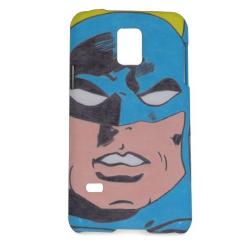 BATMAN 2014 Cover Samsung Galaxy S5 mini 3D
