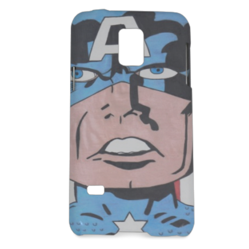 CAPITAN AMERICA 2014 Cover Samsung Galaxy S5 mini 3D