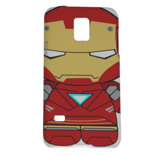 Team Ironman Cover Samsung Galaxy S5 mini 3D