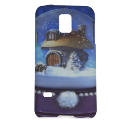 Globo di Neve Fantasy Cover Samsung Galaxy S5 mini 3D