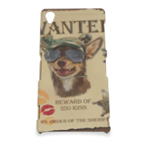Wanted Rambo Dog Cover Sony Z3 3D
