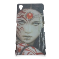Warrior woman Cover Sony Z3 3D