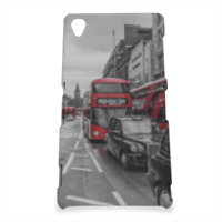 London red and white Cover Sony Z3 3D