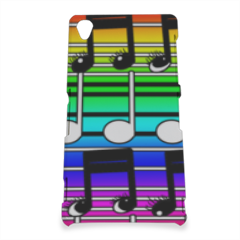 note musicali Cover Sony Z3 3D