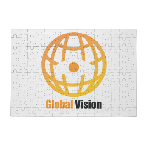 Global vision Puzzle in Legno Big