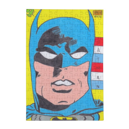 BATMAN 2014 Puzzle in Legno Big