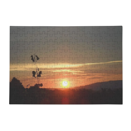Tramonto in Toscana Puzzle in Legno Big