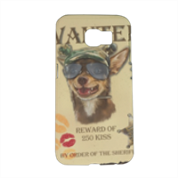Wanted Rambo Dog Cover Samsung Galaxy S6 3D