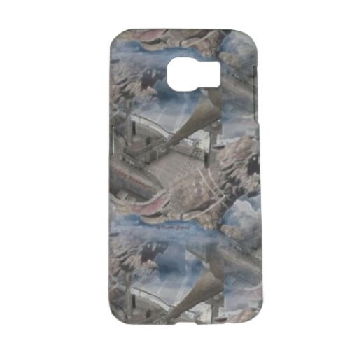 Lyon Rampant Cover Cover Samsung Galaxy S6 3D