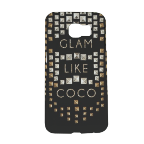 Glam Like Coco Cover Samsung Galaxy S6 3D