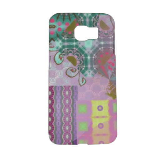 Astratto colorato Cover Samsung Galaxy S6 3D