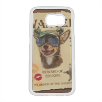 Wanted Rambo Dog Cover Samsung Galaxy S6
