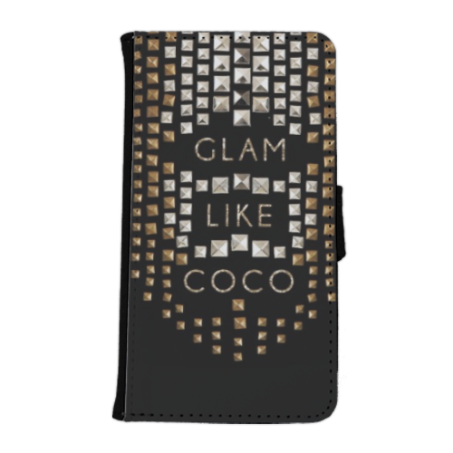 Glam Like Coco Flip Cover Samsung Galaxy S6