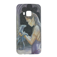 Dragon woman Cover HTC One M9 3D