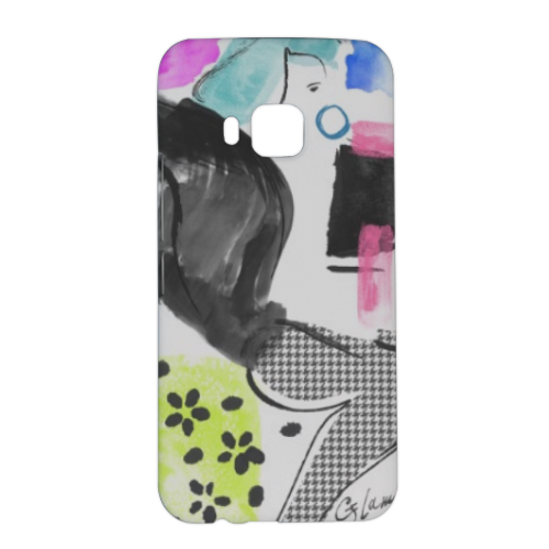 Glamour Cover HTC One M9 3D