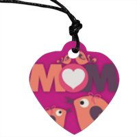 Mamma I Love You - Ciondolo Cuore con foto