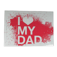 I Love My Dad - Puzzle con cornice A3