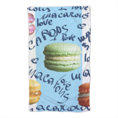 macarons Telo mare large con foto