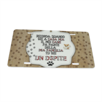 Dog Tablet  Targhe personalizzate