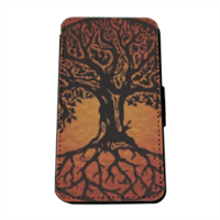 Tree of Life Flip Cover Samsung Galaxy S5