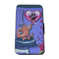 I Love Dog Blu Flip Cover Samsung Galaxy S5