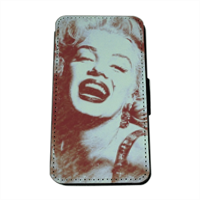 The star's smile Marilyn Flip Cover Samsung Galaxy S5