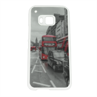 London red and white Cover Htc One M9