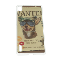 Wanted Rambo Dog Cover Huawei P7