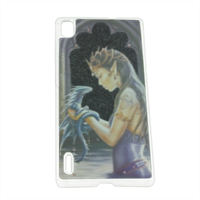 Dragon woman Cover Huawei P7