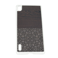 Wenge and Gothic Cover Huawei P7